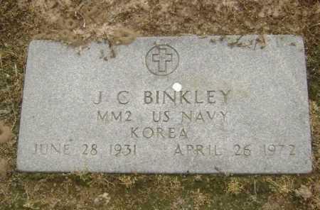 BINKLEY  (VETERAN KOR), J C - Lawrence County, Arkansas | J C BINKLEY  (VETERAN KOR) - Arkansas Gravestone Photos