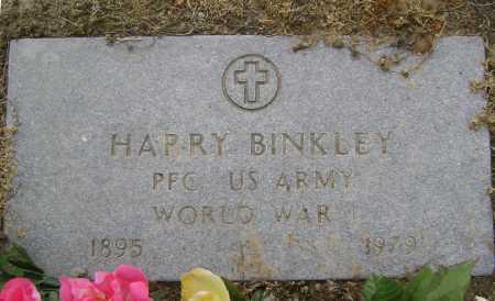BINKLEY  (VETERAN WWI), HARRY - Lawrence County, Arkansas   HARRY BINKLEY  (VETERAN WWI) - Arkansas Gravestone Photos