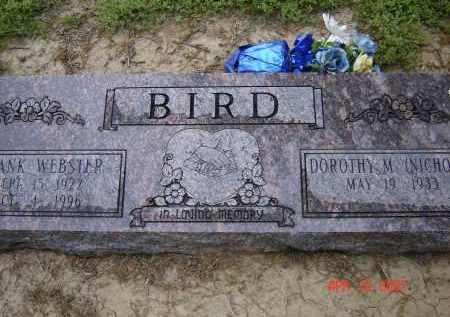 BIRD, FRANK WEBSTER - Lawrence County, Arkansas | FRANK WEBSTER BIRD - Arkansas Gravestone Photos