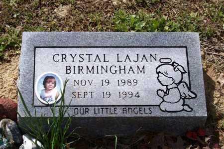 BIRMINGHAM, CRYSTAL LAJAN - Lawrence County, Arkansas | CRYSTAL LAJAN BIRMINGHAM - Arkansas Gravestone Photos