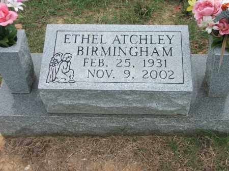 BIRMINGHAM, ETHEL - Lawrence County, Arkansas | ETHEL BIRMINGHAM - Arkansas Gravestone Photos