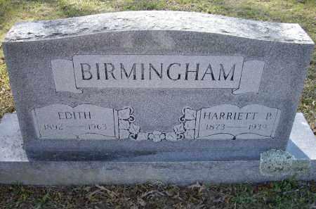 BIRMINGHAM, HARRIETT P. - Lawrence County, Arkansas | HARRIETT P. BIRMINGHAM - Arkansas Gravestone Photos