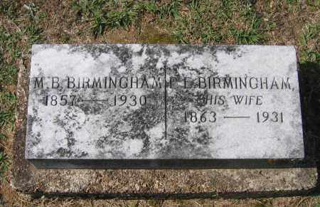 "BIRMINGHAM, MD, MATTHEW BROOKS ""M.B."" - Lawrence County, Arkansas 