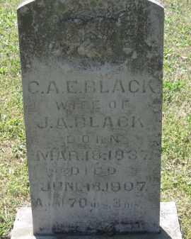 "BLACK, CELIA ""C. A. E."" - Lawrence County, Arkansas | CELIA ""C. A. E."" BLACK - Arkansas Gravestone Photos"