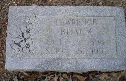 BLACK, EDGAR LAWRENCE - Lawrence County, Arkansas | EDGAR LAWRENCE BLACK - Arkansas Gravestone Photos