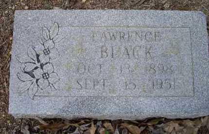 BLACK, EDGAR LAWRENCE - Lawrence County, Arkansas | EDGAR LAWRENCE BLACK - Arkansas Gravestone Photos