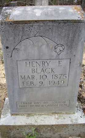 BLACK, HENRY FLORENCE - Lawrence County, Arkansas | HENRY FLORENCE BLACK - Arkansas Gravestone Photos