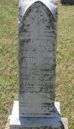 "BLACK, ISAAC N. ""I. N."" - Lawrence County, Arkansas | ISAAC N. ""I. N."" BLACK - Arkansas Gravestone Photos"