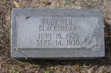 BLACKSHEAR, RUBY NEIL - Lawrence County, Arkansas | RUBY NEIL BLACKSHEAR - Arkansas Gravestone Photos