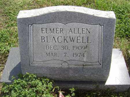 BLACKWELL, ELMER ALLEN - Lawrence County, Arkansas | ELMER ALLEN BLACKWELL - Arkansas Gravestone Photos