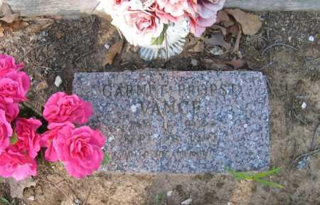 VANCE, GARNET - Lawrence County, Arkansas   GARNET VANCE - Arkansas Gravestone Photos