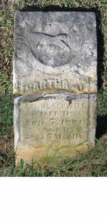 OLDHAM BLACKWELL, MARTHA JANE - Lawrence County, Arkansas   MARTHA JANE OLDHAM BLACKWELL - Arkansas Gravestone Photos