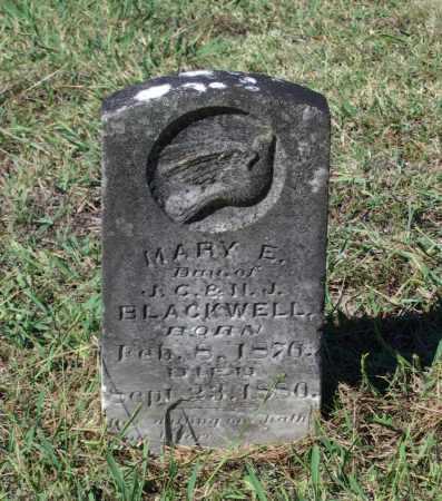 BLACKWELL, MARY ELIZABETH - Lawrence County, Arkansas | MARY ELIZABETH BLACKWELL - Arkansas Gravestone Photos