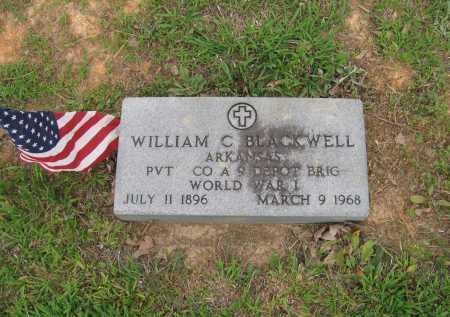 "BLACKWELL (VETERAN WWI), WILLIAM CALVIN ""DOC"" - Lawrence County, Arkansas   WILLIAM CALVIN ""DOC"" BLACKWELL (VETERAN WWI) - Arkansas Gravestone Photos"