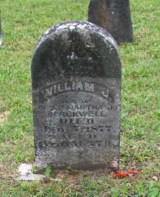 BLACKWELL, WILLIAM J. - Lawrence County, Arkansas   WILLIAM J. BLACKWELL - Arkansas Gravestone Photos