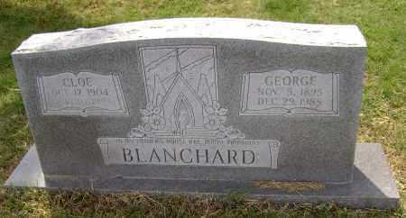 GUFFEY BLANCHARD, CLOE - Lawrence County, Arkansas | CLOE GUFFEY BLANCHARD - Arkansas Gravestone Photos