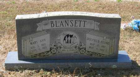 BLANSETT, MARY ANN - Lawrence County, Arkansas | MARY ANN BLANSETT - Arkansas Gravestone Photos