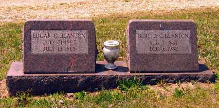 CATHY BLANTON, BERTHA LEE - Lawrence County, Arkansas | BERTHA LEE CATHY BLANTON - Arkansas Gravestone Photos