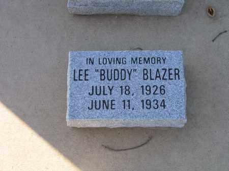 "BLAZER, LEE ""BUDDY"" - Lawrence County, Arkansas | LEE ""BUDDY"" BLAZER - Arkansas Gravestone Photos"