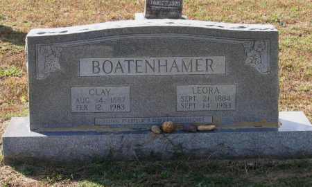 HARRIS BOATENHAMMER, LEORA FRANCES - Lawrence County, Arkansas | LEORA FRANCES HARRIS BOATENHAMMER - Arkansas Gravestone Photos
