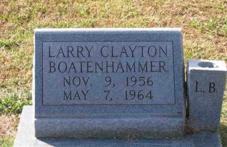 BOATENHAMMER, LARRY CLAYTON - Lawrence County, Arkansas   LARRY CLAYTON BOATENHAMMER - Arkansas Gravestone Photos