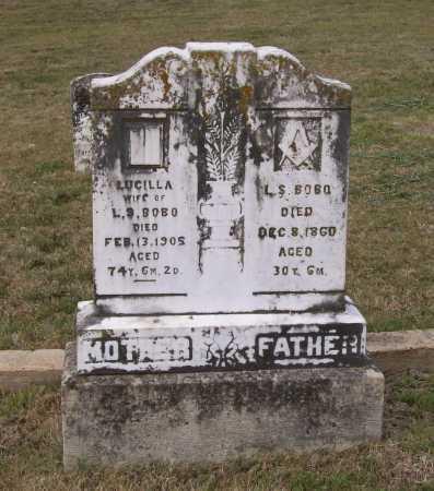BOBO, LUCILLA - Lawrence County, Arkansas | LUCILLA BOBO - Arkansas Gravestone Photos
