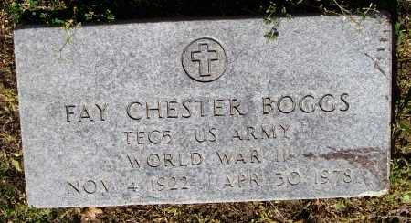BOGGS (VETERAN WWII), FAY CHESTER - Lawrence County, Arkansas | FAY CHESTER BOGGS (VETERAN WWII) - Arkansas Gravestone Photos