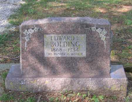BOLDING, EDWARD FRANKLIN - Lawrence County, Arkansas | EDWARD FRANKLIN BOLDING - Arkansas Gravestone Photos