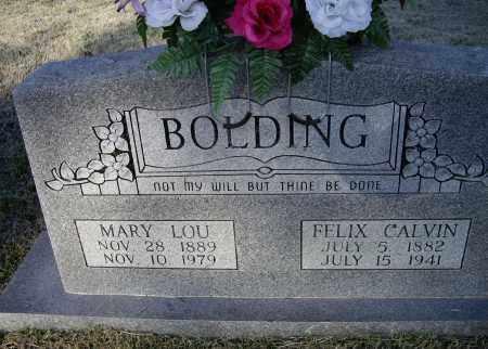 "BOLDING, MARY LOUELLEN ""MARY LOU"" - Lawrence County, Arkansas | MARY LOUELLEN ""MARY LOU"" BOLDING - Arkansas Gravestone Photos"