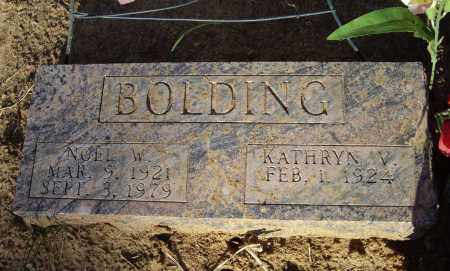 BOLDING, KATHRYN VIRGINIA - Lawrence County, Arkansas | KATHRYN VIRGINIA BOLDING - Arkansas Gravestone Photos