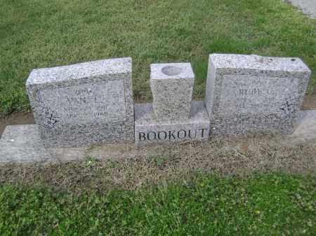 BOOKOUT, RUBY CORDELIA - Lawrence County, Arkansas | RUBY CORDELIA BOOKOUT - Arkansas Gravestone Photos