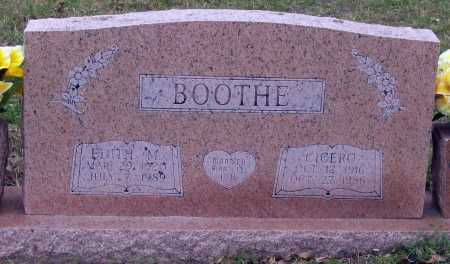 BOOTHE, CICERO - Lawrence County, Arkansas | CICERO BOOTHE - Arkansas Gravestone Photos