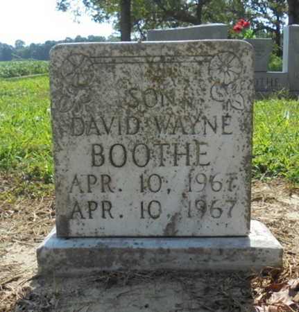 BOOTHE, DAVID WAYNE - Lawrence County, Arkansas | DAVID WAYNE BOOTHE - Arkansas Gravestone Photos