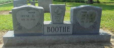 BOOTHE, JACK W. - Lawrence County, Arkansas   JACK W. BOOTHE - Arkansas Gravestone Photos
