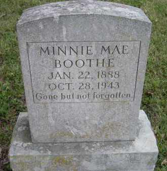 FRY BOOTHE, MINNIE MAE - Lawrence County, Arkansas | MINNIE MAE FRY BOOTHE - Arkansas Gravestone Photos