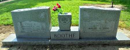 BOOTHE, REV., WILLIE MELVIN - Lawrence County, Arkansas | WILLIE MELVIN BOOTHE, REV. - Arkansas Gravestone Photos
