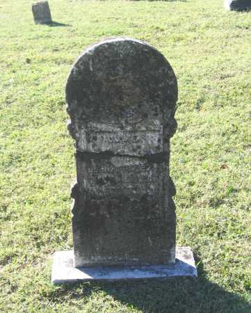 BORAH, OLLIE - Lawrence County, Arkansas | OLLIE BORAH - Arkansas Gravestone Photos