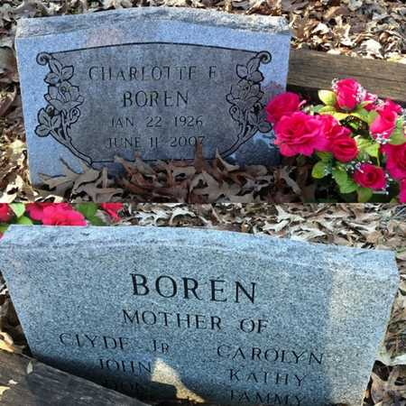 HOLDER BOREN, JOYCE CHARLOTTE FERN - Lawrence County, Arkansas | JOYCE CHARLOTTE FERN HOLDER BOREN - Arkansas Gravestone Photos