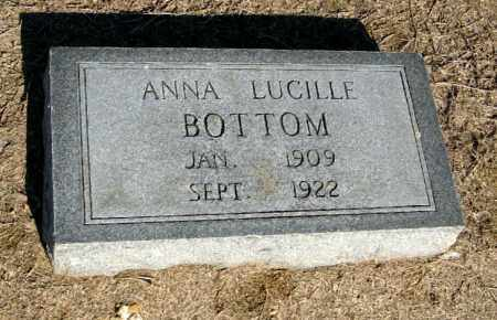 BOTTOM, ANNA LUCILLE - Lawrence County, Arkansas   ANNA LUCILLE BOTTOM - Arkansas Gravestone Photos