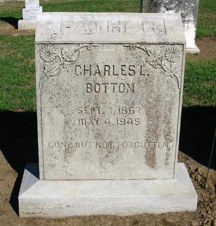 BOTTOM, CHARLES LOAFMAN - Lawrence County, Arkansas | CHARLES LOAFMAN BOTTOM - Arkansas Gravestone Photos