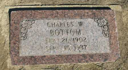 BOTTOM, CHARLES W. - Lawrence County, Arkansas | CHARLES W. BOTTOM - Arkansas Gravestone Photos