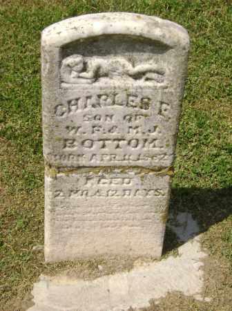 BOTTOM, CHARLES F. - Lawrence County, Arkansas | CHARLES F. BOTTOM - Arkansas Gravestone Photos