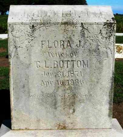 BOTTOM, FLORA JANE - Lawrence County, Arkansas | FLORA JANE BOTTOM - Arkansas Gravestone Photos