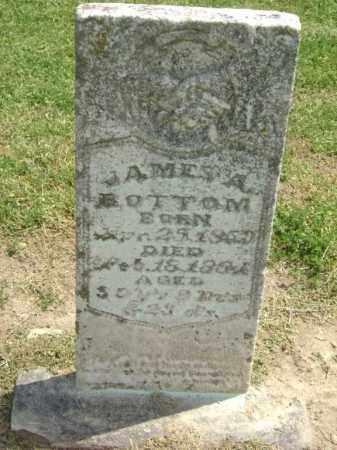 BOTTOM, JAMES A. - Lawrence County, Arkansas | JAMES A. BOTTOM - Arkansas Gravestone Photos