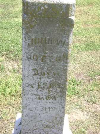 BOTTOM, JOHN W. - Lawrence County, Arkansas | JOHN W. BOTTOM - Arkansas Gravestone Photos