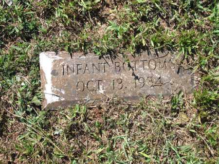 BOTTOMS, INFANT - Lawrence County, Arkansas   INFANT BOTTOMS - Arkansas Gravestone Photos