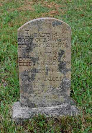 BOTTOMS, INFANT SON - Lawrence County, Arkansas | INFANT SON BOTTOMS - Arkansas Gravestone Photos