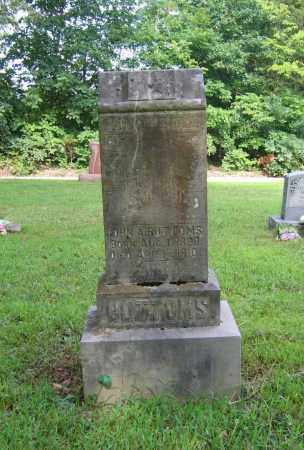 BOTTOMS, JOHN ALEXANDER - Lawrence County, Arkansas | JOHN ALEXANDER BOTTOMS - Arkansas Gravestone Photos