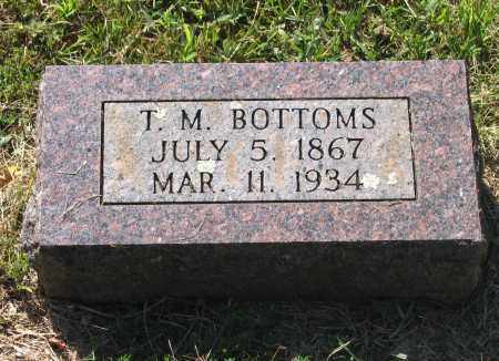 "BOTTOMS, THOMAS M. ""T. M."" - Lawrence County, Arkansas 