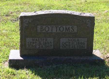 BOTTOMS, NOLA J. - Lawrence County, Arkansas | NOLA J. BOTTOMS - Arkansas Gravestone Photos